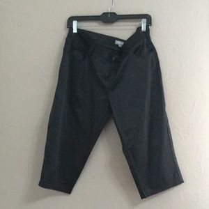 Pants - Satin Capri Pants